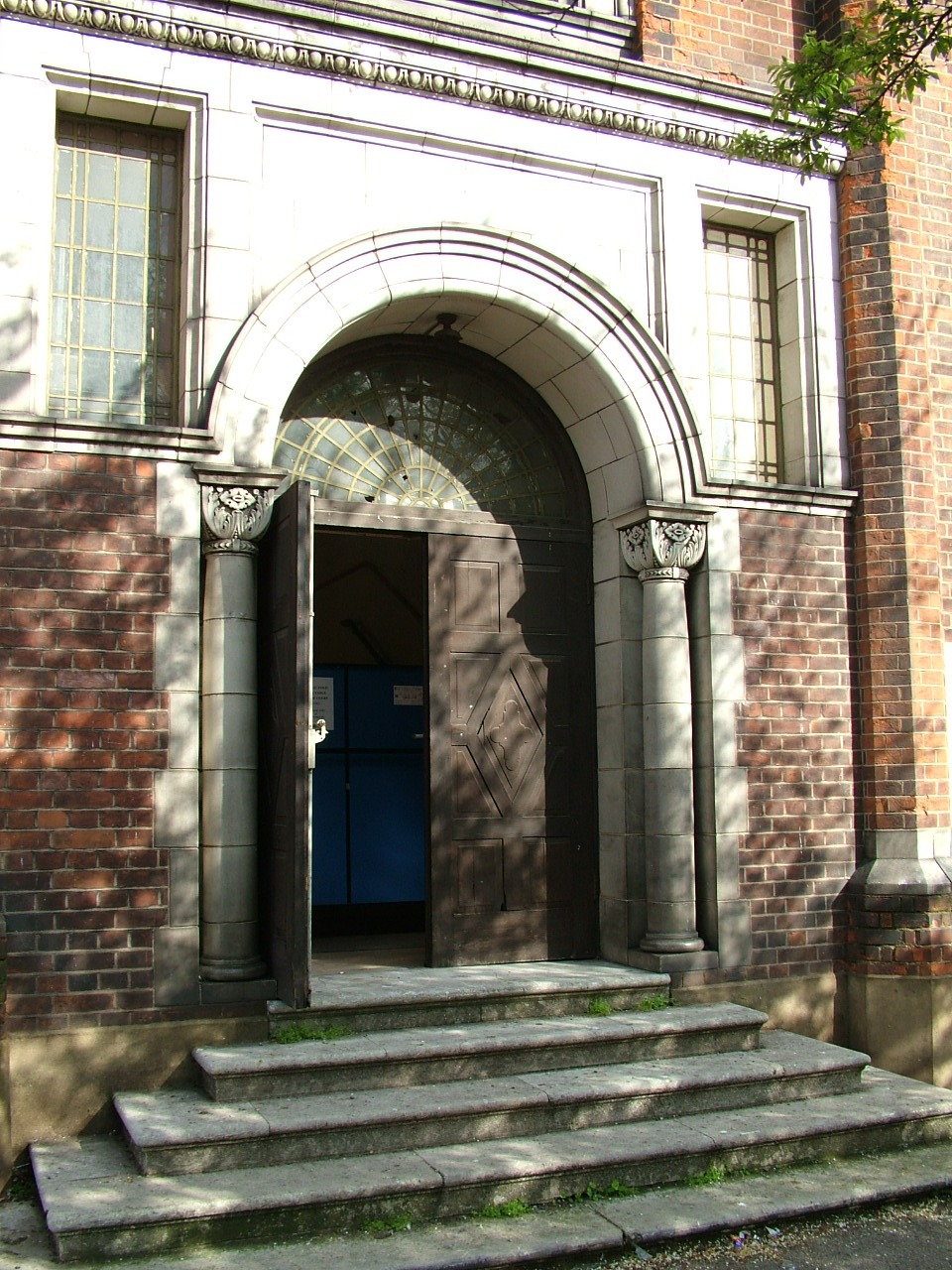 Memorial Church Doors